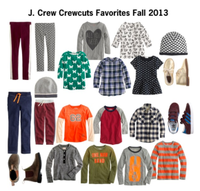 J. Crew Crewcuts Favorites Fall 2013
