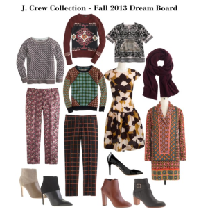J. Crew Collection – Fall 2013 Dream Board