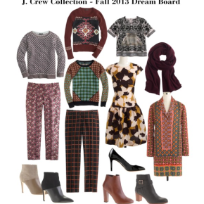 J. Crew Collection – Fall 2013 DreamBoard