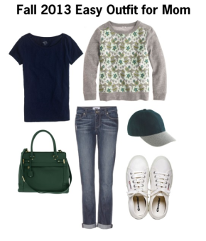 Fall 2013 Easy Everyday Outfit for Mom