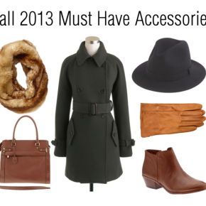 Fall 2013 Must Have Accessories