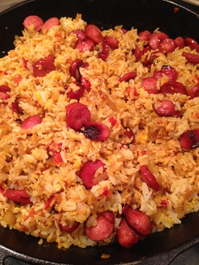Hot Dog Fried Rice Recipe