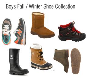Boys Fall / Winter ShoeCollection
