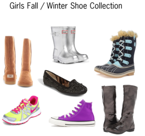 Girls Fall / Winter Shoe Collection