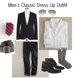 Grammy's Dilemma – Men's Classic Dress Up Outfit