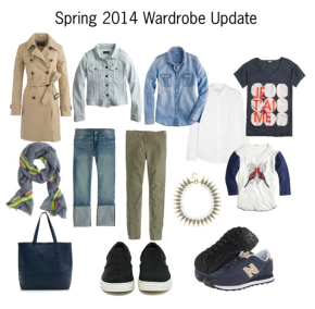 Spring 2014 JCREW Wardrobe Update
