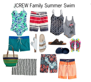 JCREW Family Summer Swim