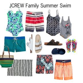 JCREW Family SummerSwim
